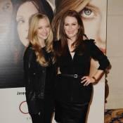 Les resplendissantes Amanda Seyfried et Julianne Moore... illuminent la capitale de leurs sourires !