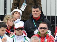 Vancouver 2010 : David Douillet et Valérie assistent, en amoureux, à la première médaille française !