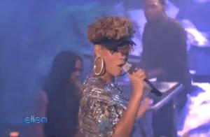 Rihanna : Regardez la future actrice assurer comme une pro chez sa copine... Ellen DeGeneres !