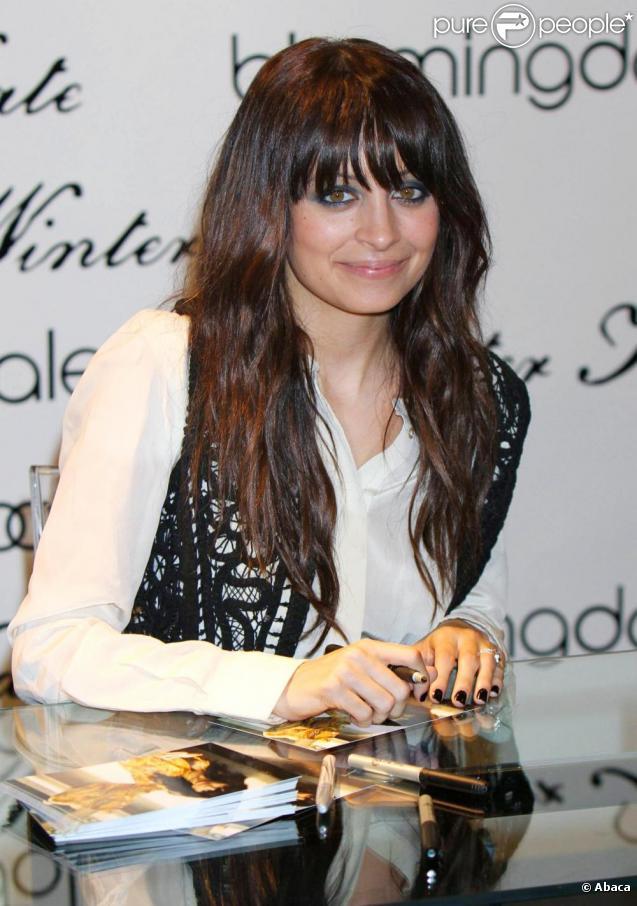 Nicole Richie à New York pour la promotion de sa ligne Winter Kate. Le 16 février 2010