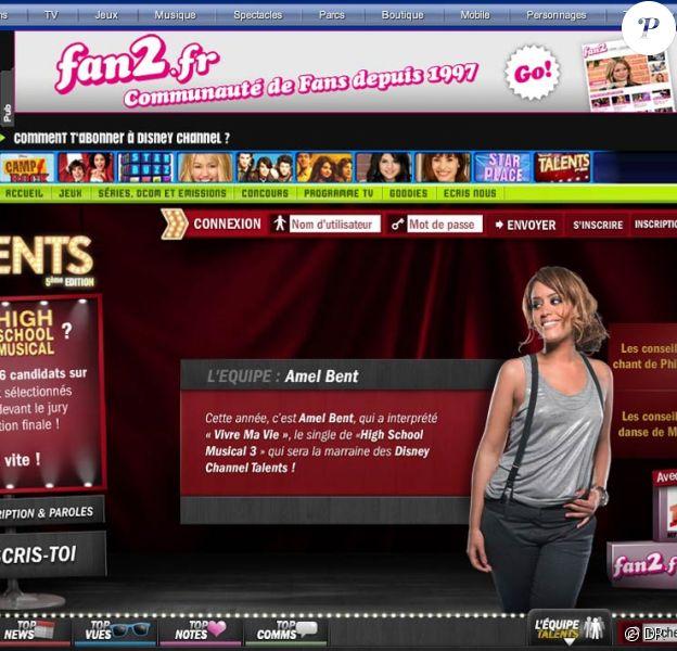 """Amel Bent est la nouvelle marraine du casting Disney Channel Talents ouvert aux 8-16 ans, et prend son rôle de """"grande soeur"""" très à coeur !"""