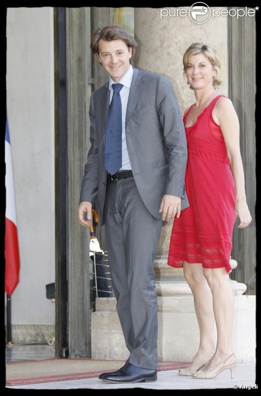 Michèle Laroque et son compagnon François Baroin