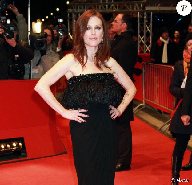 La sublime Julianne Moore à l'occasion de l'avant-première de The kids are all right, lors de la 60e Berlinale, le 17 février 2010.