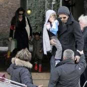 Brad Pitt et Angelina Jolie : Promenade italienne avec Zahara... et la jolie Shiloh !
