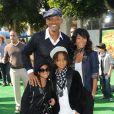 Will Smith et Jada Pinkett accompagnés de leur fashion kids : l'adorable Willow (top tendance !) et l'élégant Jaden... On adore !
