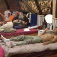 Samedi 20 février : Bien qu'il ne soit plus chef, David continue de dormir chez les chefs...