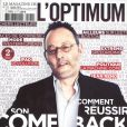 Jean Reno en couverture de L'Optimum
