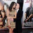 Bruce Willis et Emma Heming à la première mondiale de Cop Out. 22/02/2010, à New York