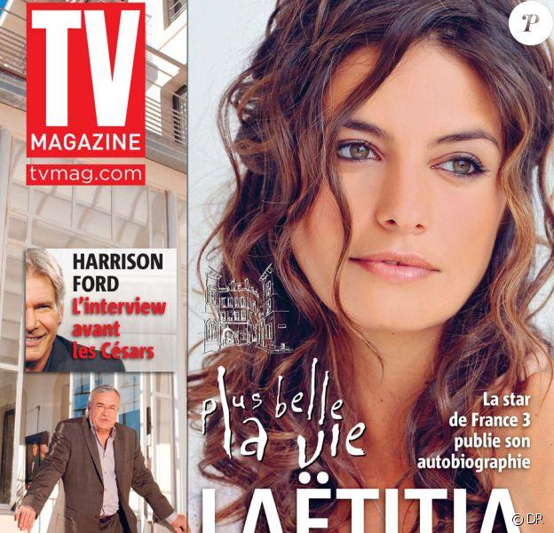 Laëtitia Milot en couverture de TV Magazine