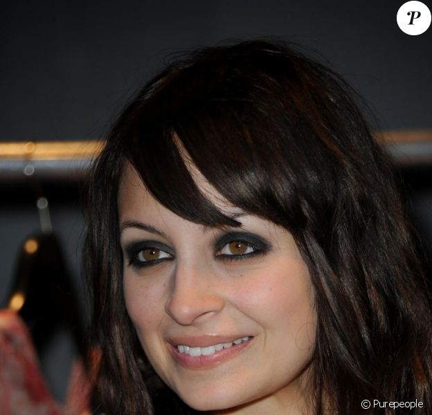 Nicole Richie à Paris le 24 février 2010