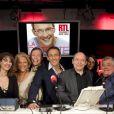 L'équipe de Ça peut vous arriver sur RTL, avec Julien Courbet et maître Didier Bergès
