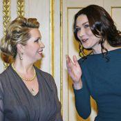 Nicolas Sarkozy et la ravissante Carla à l'Elysée : Plongez dans les coulisses de leur prestigieux dîner...