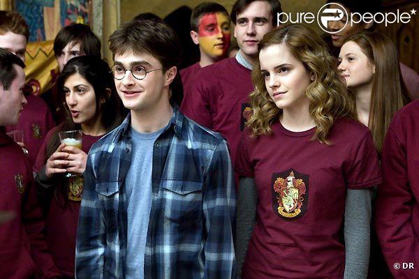 Des images d' Harry Potter et le prince de sang-mêlé.