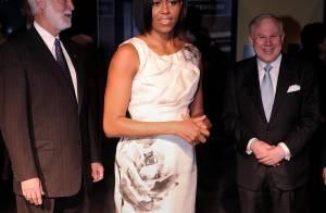 Michelle Obama : Sa plus belle robe entre dans l'Histoire...