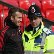 David Beckham : retour à l'entraînement... mais sous surveillance !
