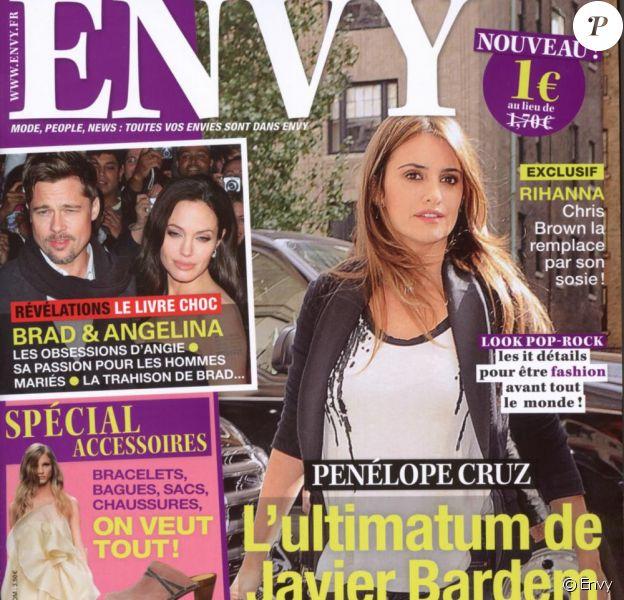 Couverture du magazine Envy