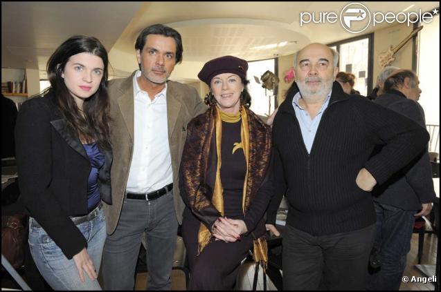 Cécile Cassel, Christophe Barratier, Anny Duperey et Gérard Jugnot présente le 49e gala de l'Union des artistes à la presse, à Paris, le 11 mars 2010 !