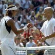 Le 12 mars 2010, l'événement Hit for Haïti au profit des populations haïtiennes, à Indian Wells, a pu compter sur Rafael Nadal et Andre Agassi, associés en double