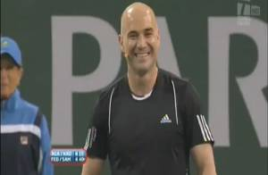 Regardez Andre Agassi et Pete Sampras : le clash en direct !