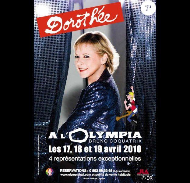 Dorothée fera son grand retour à l'Olympia en avril prochain.