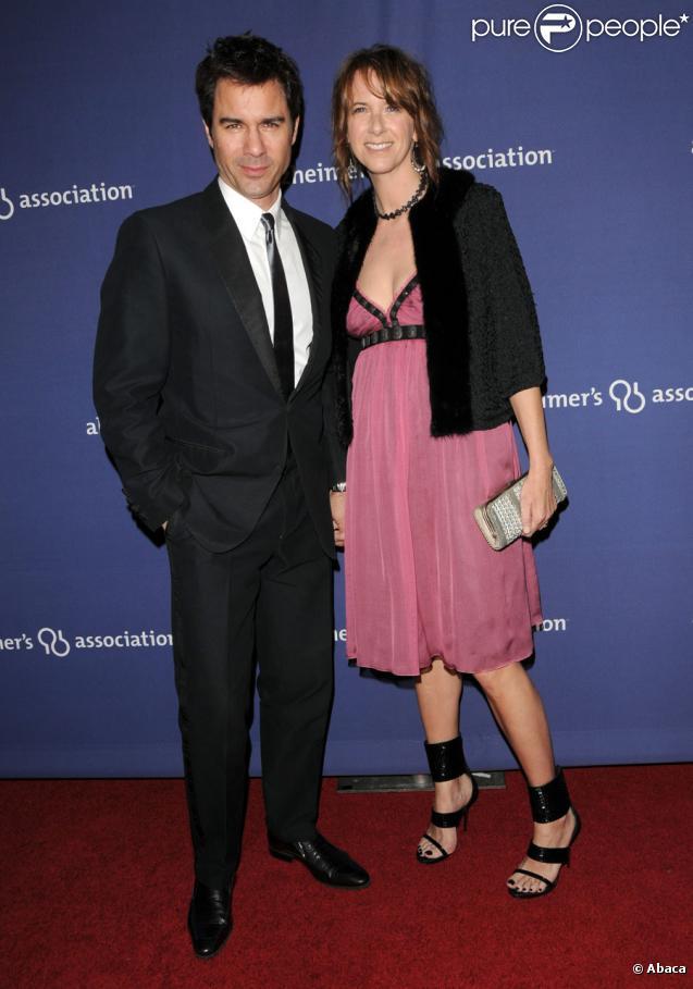 Eric McCormack couple