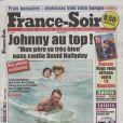 Couverture de France-Soir du 19 mars 2010 avec des photos d' avril 2006 !!!!