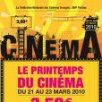 Le printemps du cinéma 2010