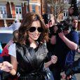 Cheryl Cole à Londres, le 23 mars 2010
