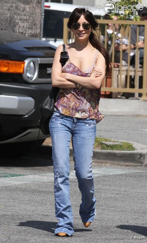 Nicole Richie à Los Angeles, le 23 mars 2010