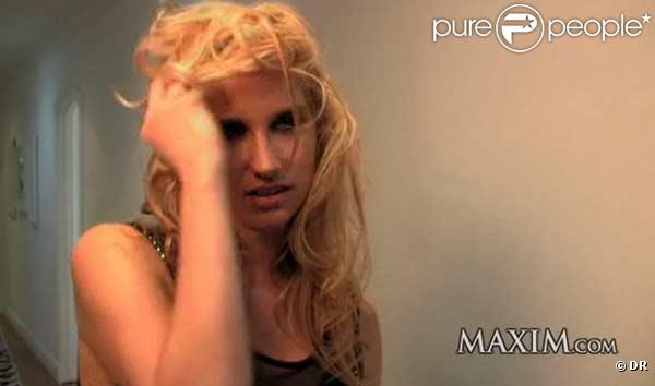 Ke$ha dévoile ses charmes dans les pages du magazine Maxim