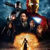 "Scarlett Johansson, Robert Downey Jr. et Gwyneth Paltrow s'affichent pour ""Iron Man 2"" !"