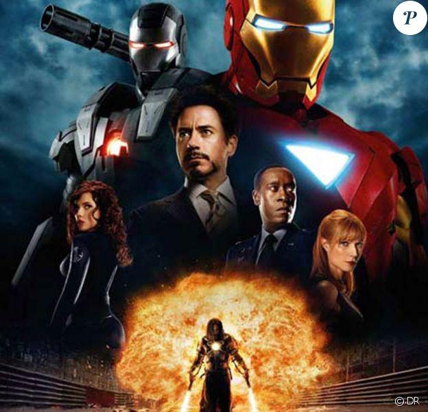 Des images d'Iron Man 2, en salles le 28 avril.