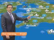 Regardez le délirant Steve Carell présenter une météo surréaliste à l'occasion du 1er avril !