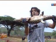 La Ferme Célébrités en Afrique : Regardez Greg se prendre pour Crocodile Dundee... pendant que David dénigre encore Mickaël !