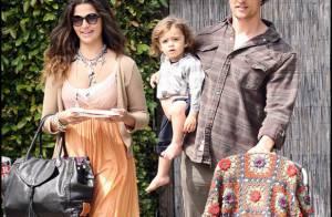 Matthew McConaughey, sa sublime Camila Alves, l'adorable Levi et la beauté Vida jouent les familles... chic et bohèmes !