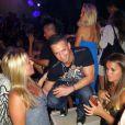 """Mike """"The Situation"""" Sorrentino à l'occasion de la soirée hommage à DJ AM, à Miami, le 25 mars 2010."""