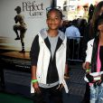Jaden et Willow Smith, les enfants de Will et Jada Pinkett Smith, à l'avant-premiere de The Perfect Game, à Los Angeles, le lundi 5 avril.