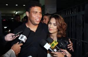 Ronaldo et sa belle Bia, parents d'une petite fille !