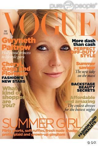 Gwyneth Paltrow en couverture de Vogue UK