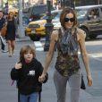 Sarah Jessica Parker accompagne James Wilkie à l'école le 8 avril 2010 à New York