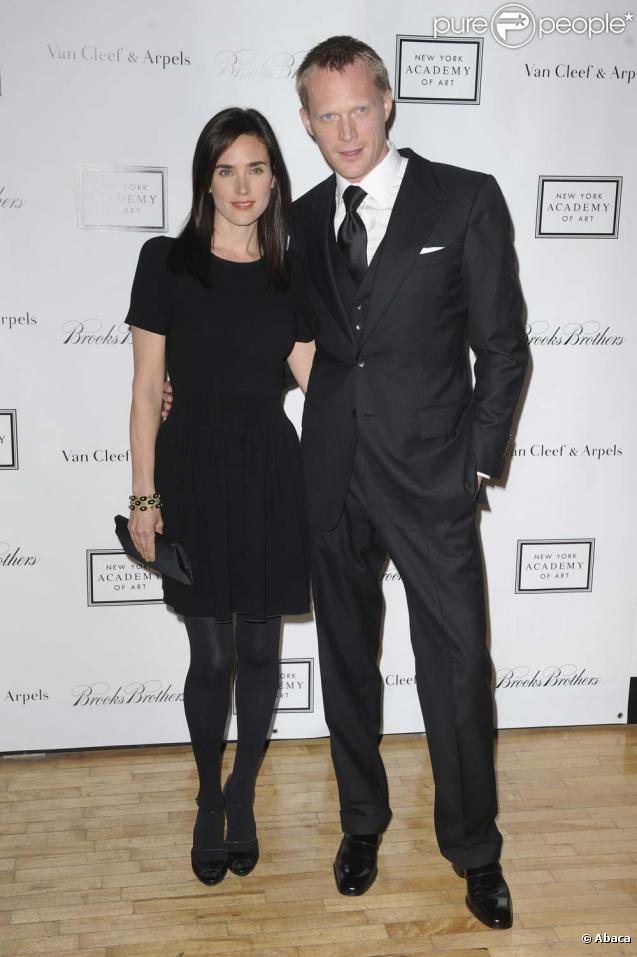 Jennifer Connelly et Paul Bettany au Tribeca Ball de la New York Academy of Art, le 13 avril 2010 !