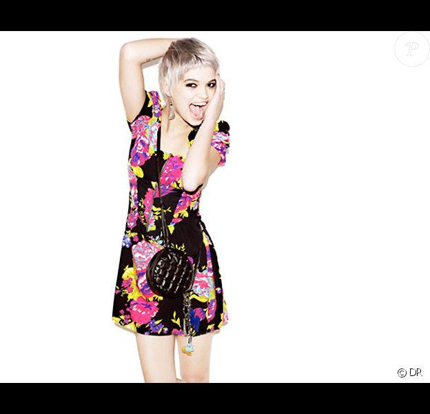 Pixie Geldof pose pour la marque la collection Debenhams