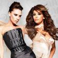 Victoria Beckham et Eva Longoria pour LG