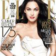Megan Fox en couverture du magazine ELLE US
