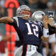 Tom Brady en pleine action