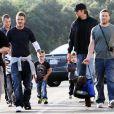 David Beckham et ses fils vont jouer au foot américain avec Tom Brady