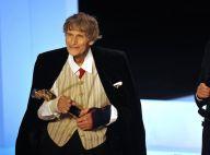 Laurent Terzieff, honoré aux Molières 2010, est un hyperactif... blessé !