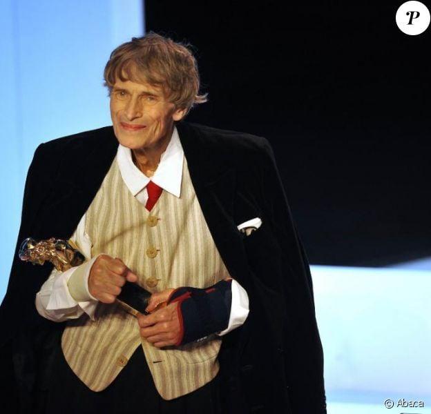 Laurent Terzieff à la 24e cérémonie des Molières, le 25 avril 2010.