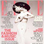 Lady Gaga, vêtue d'un pantalon taille haute, s'affiche poitrine nue !