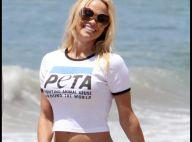 Pamela Anderson, amie des bêtes devant l'éternel : admirez son sublime... lâcher de pélicans !